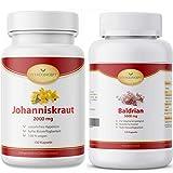 Baldrian (5000 mg pro Kapsel / 10:1 Extrakt) I 120 Baldrian Kapseln I Baldrian hochdosiert I Made in...