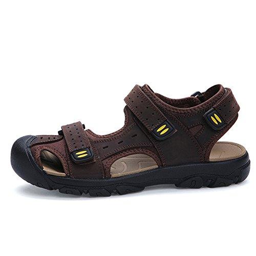 été Sandales d'homme Baotou/Loisirs sandales respirants/Sandales taille moyenne C