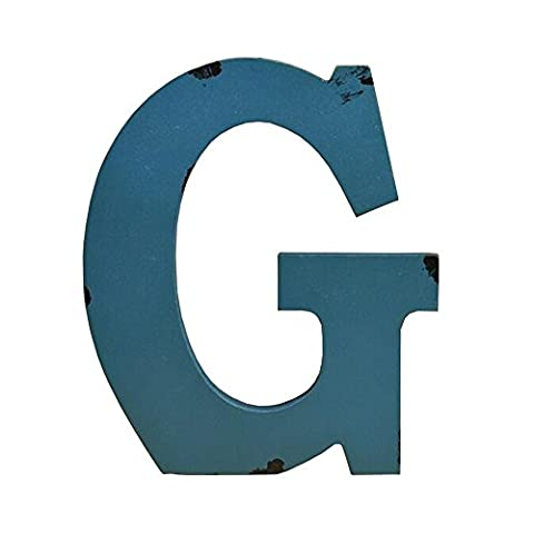 gossipboy Holz 17,8cm Holz Buchstaben Alphabet A-Z Vintage Handwerk Multi Farbe Wand Decor für Zuhause, Kindergarten, Shop, Business Schilder, Namen, Festival Hochzeit Dekoration g