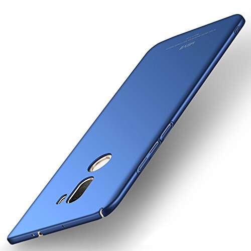 Xiaomi Mi 5s Plus Hülle, MSVII® Sehr Dünn Hülle Schutzhülle Case Und Displayschutzfolie für Xiaomi Mi 5s Plus (Nicht mit Xiaomi Mi 5s kompatibel) - Blau JY00286 Blau