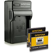Novità - 4in1 Caricabatteria + 2x Batteria come NP-BN1 BN-1 con Infochip · 100% compatibile con Sony Cybershot DSC-W310   W320   W350   W380   W510   W530   W570   W610   W630   W690   WX5   WX7   WX30   WX50   WX100   T99   T110   TX5   TX7   TX9   TX10   TX20   TX100V
