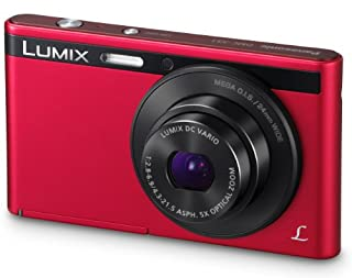 "Panasonic DMC-XS1EG-R - Cámara EVIL de 16 Mp (pantalla 2.7"", estabilizador), color roja - kit con objetivo 24-120mm f/6.9 (B00BB3DUMA) 
