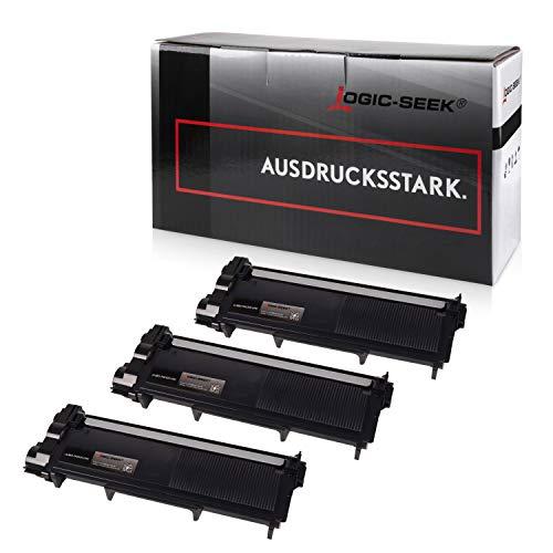 3 Pack-serie (Logic-Seek Toner Kompatibel Für Brother TN-2320, 3-er Pack, 5200 Seiten, Schwarz)