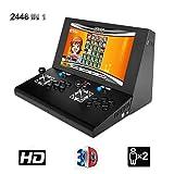 Hppgame Pandora's Box 3D Machine de Jeu vidéo Arcade 2448 Jeux Classiques, 2...