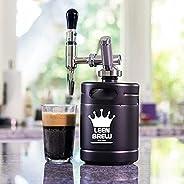 صانعة القهوة المنزلية الباردة نيترو نظام Keg Kit من الفولاذ المقاوم للصدأ Leen Brew