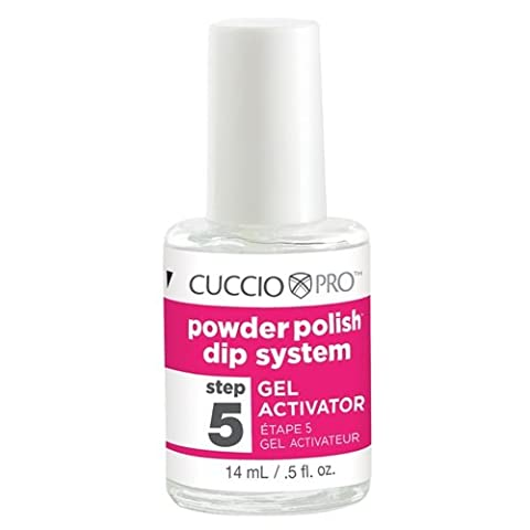 Cuccio Powder Polish Dip System Step 5 Gel Activator 14ml