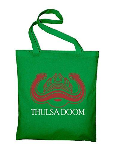 Thulsa Doom Emblema Logo Segno Borsa Di Juta, Film Verde