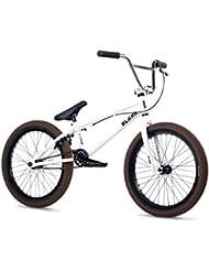Vierge Tyro 2016Vélo BMX 20en roue de 18,5en Top Tube Blanc