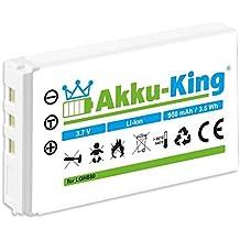 Akku-King 20107188 Lithium-Ion 950mAh 3.7V rechargeable battery - rechargeable batteries (950 mAh, 3.52 Wh, Lithium-Ion (Li-Ion), 3.7 V, White, 1 pc(s))