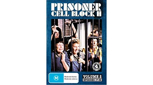 Prisoner: Cell Block H - Vol. 2 (Ep. 17-32) - 4-DVD Set ( Caged Women ) ( Women Behind Bars ) by Alan Hopgood (Caged Woman-dvd)