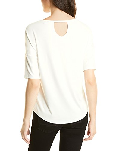 Street One, T-Shirt Donna Weiß (Off White 30108)