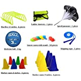 Roxan Vishwa Agility Hurdles, Ladder, Saucer Cones, Marker Cones, Medicine Ball & Speed Paracute