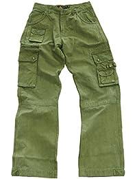 robuste Outdoor Herren Cargo Hose mit vielen Taschen und Extras in braun, khaki, blau und schwarz