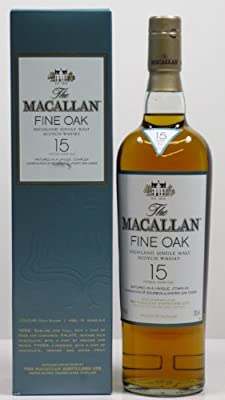MACALLAN 15 Year Old Fine Oak Speyside Whisky 70cl Bottle
