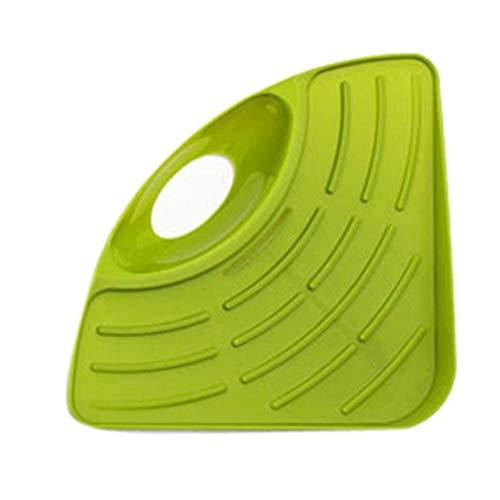 Lopbinte Küchen Helfer Veranstalter Waschbecken Saug Ecke Regal Wand Küche Abtropf Brett Ablauf Regal Schwamm Halter -