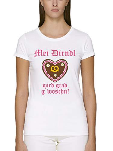 clothinx Damen T-Shirt Unisex Bio und Fair MEI -