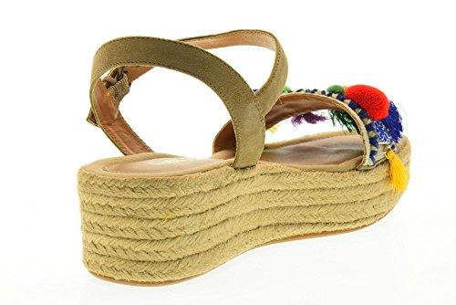 CORAL BLUE scarpe donna sandali CB.K217.31 Beige