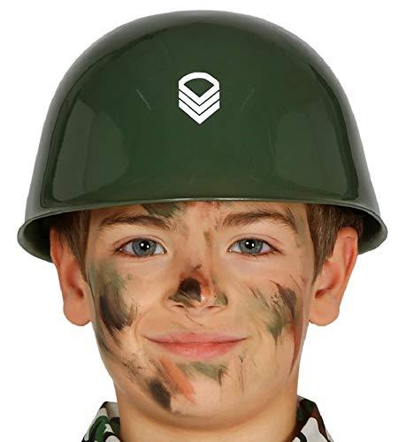 Militär Kostüm Zubehör - shoperama Kinder-Helm Soldat Militär Armee Army Soldier Kostüm-Zubehör Kopfbedeckung