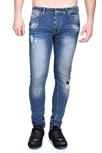 Black Soul - Jeans Blk 11 Bleu Bleu