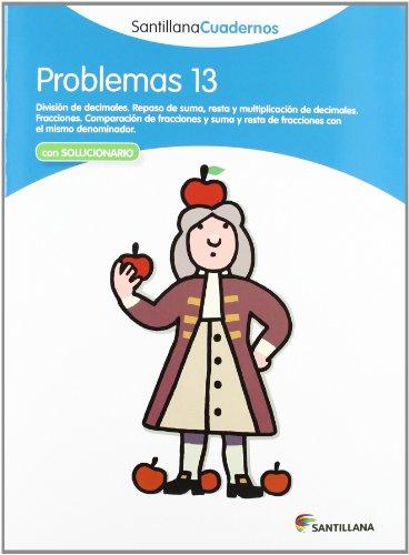 PROBLEMAS 13 SANTILLANA CUADERNOS - 9788468013107