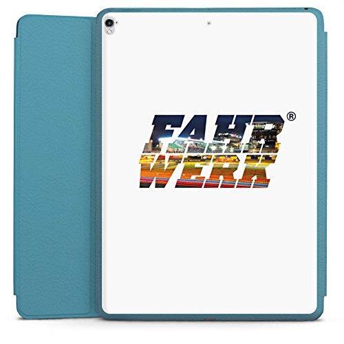 DeinDesign Apple iPad Pro 12.9 (2017) Smart Case hellblau Hülle Tasche mit Ständer Smart Cover Corsa Fahrwerk Fahrzeuge Corso Cover