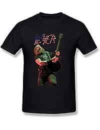 Pliuegy Men's Slayer Black Eagle T-Shirt