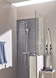 Grohe Euphoria System 210 Shower System With Safety Mixer For Wall Mounting, 26383000