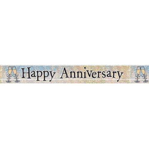 Prism Happy Anniversary Banner, 2,7 m