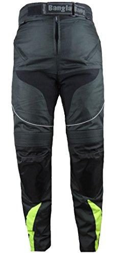 Bangla Kinder Motorradhose Tourenhose Textil 2152 Schwarz Neongelb 164