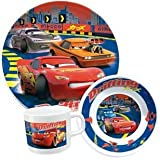 Kinder-Geschirr-Set 3-tlg. Disney/Pixar Cars