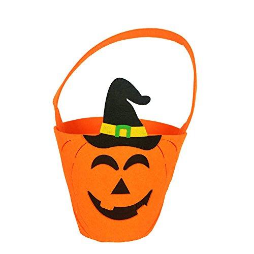 OverDose Damen Baby-Mädchen-Jungen-Kürbis-Speicher-Halloween-Zusatz-Beutel-Einzelne Handtaschen-Taschen-Partei Cosplay wesentliches Geschenk