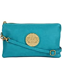 Siesley London Girl s and Women s PU Leather Multipurpose Cross Body  Shoulder Bag (Green) 1e323d8b638c1