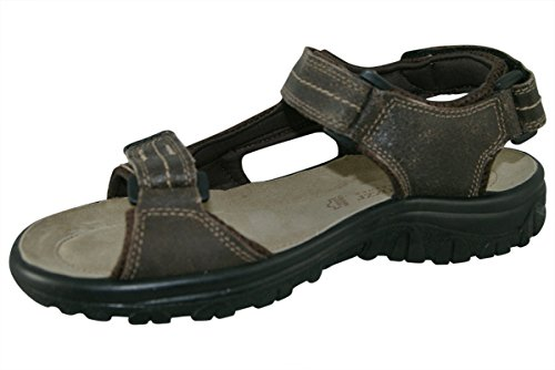 6929 Marco Tozzi Herren Leder Trekking Sandale mocca braun Mocca Comb