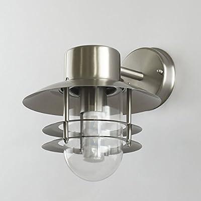 Außenleuchte Wandleuchte E27 Lampe Wandlampe Leuchte Außenlampe Außenwandleuchte (155DN) von Maxkomfort GmbH - Lampenhans.de