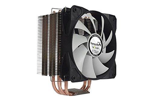 Gelid CC-TranQ-04-A Ventola per CPU da 120 mm, Nero