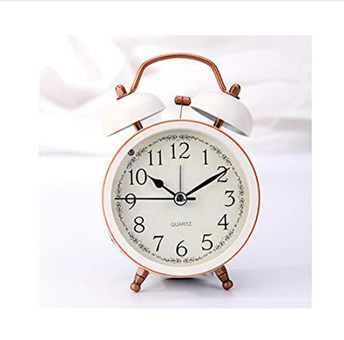 ZHONGQIAN Alarm Clock Metal Small Band Eyes Lantern