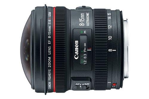 Canon 4427B002 lente de cámara MILC/SLR - Objetivo (MILC/SLR, 14/11, Objetivo de ojo de pez, 0,16 m, Canon EF, 1,5 cm)