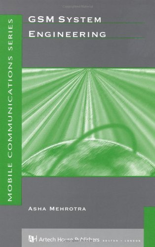 GSM System Engineering (Artech House Mobile Communications Series) by Asha K. Mehrotra (1997-03-31)