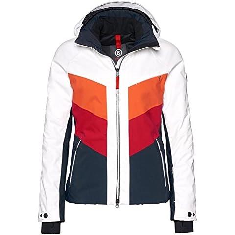 BOGNER FIRE + ICE Sierra giacca da sci da donna, bianco, 40, 34864902