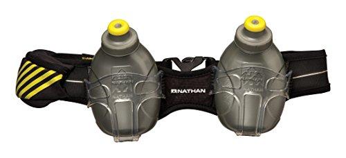 Nathan Mercury 2 - Mochila de hidratación para running, color negro,