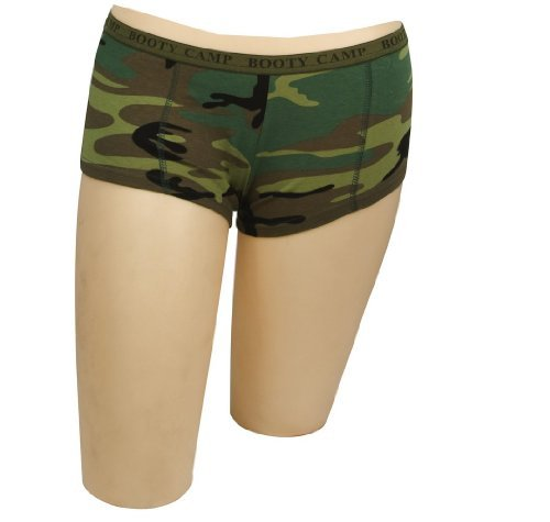 Rothco Women's Booty Camp Booty Shorts (Booty Camp)