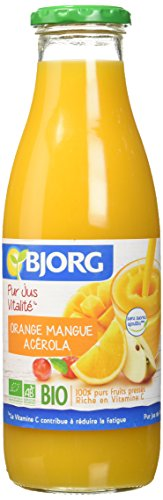 Bjorg Jus Vitalité Orange Mangue...