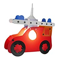 Niermann Standby Plastic Pendulum Light, Firework Car, red