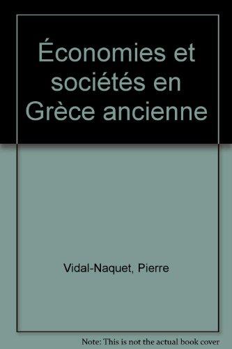 Économies et sociétés en Grèce ancienne