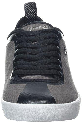 Boxfresh Calvict, Baskets Homme Gris (charbon)