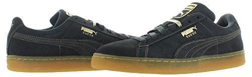Puma Suede Classic + Herren Sneakers Dark Shadows/Metallic Gold