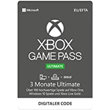 Xbox Game Pass Ultimate | 3 Monate Mitgliedschaft | Xbox One/Win 10 PC - Download Code