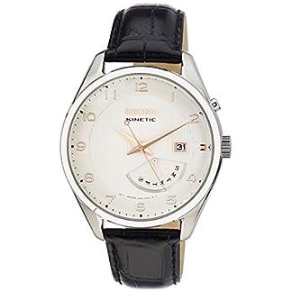 Seiko Dress Analog White Dial Men's Watch-SRN049P1