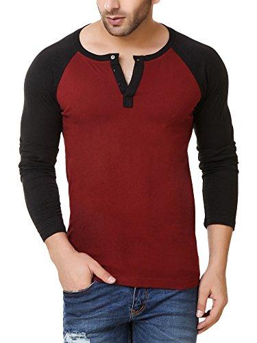 Fabstone-Collection-Maroon-Full-Raglan-T-Shirt