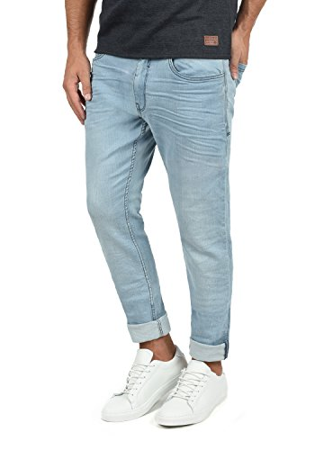 Blend Taifun Herren Jeans Hose Denim aus Stretch-Material Slim Fit, Größe:W33/30, Farbe:Denim Lightblue (76200)
